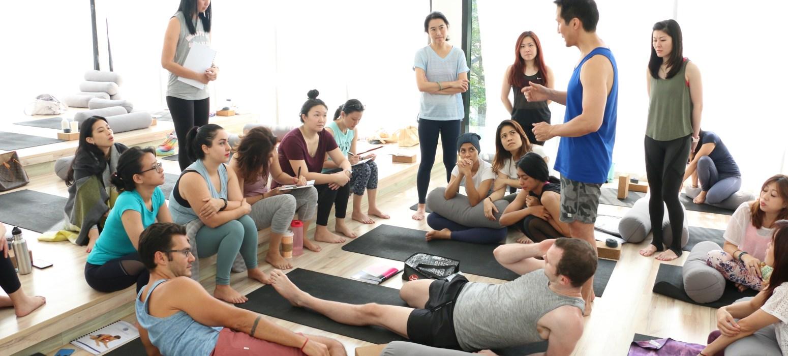 30-Hour Yin Teacher Training with David Kim - July 2019