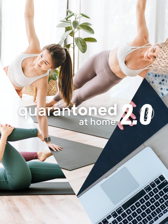 Quarantoned 2.0 Event Banner